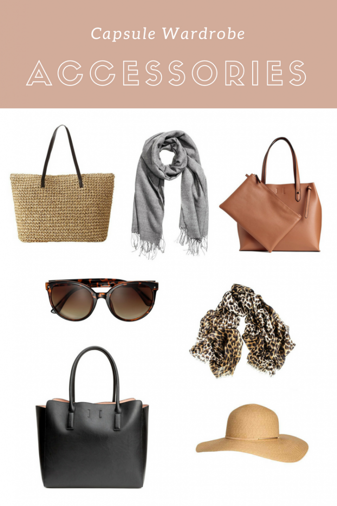 Capsule Wardrobe Handbags Hats Scarves
