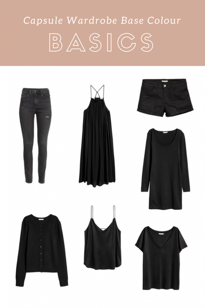 Capsule Wardrobe Base Colour Basics