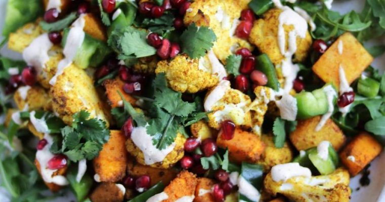 Curried Cauliflower & Squash Salad
