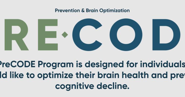 PreCODE – Prevention of Cognitive Decline