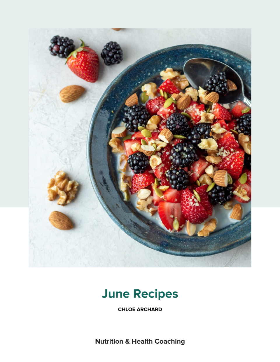Day 25: Free Recipe Book for You, June 2021