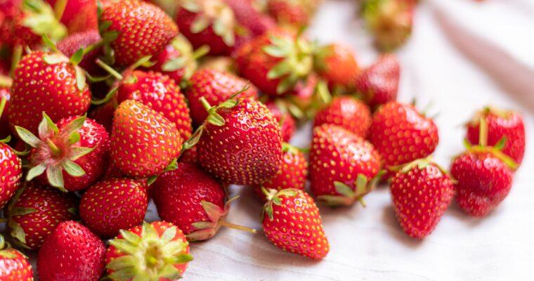 Strawberries & Sunshine! TYOH Day 14, June 2021