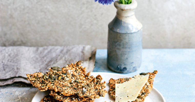 Day 55: July Foraging for Nettle Seeds to make Nettle Seed & Flaxseed Crackers