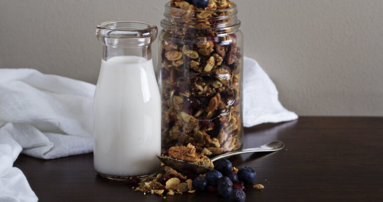 Day 60: Blueberry & Ginger Granola (TYOH, July 2021)